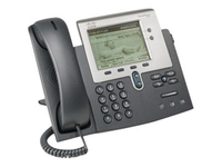 Cisco Unified 7942G, Refurbished IP phone Black LCD