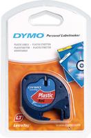 DYMO 12mm LetraTAG Plastic tape label-making tape