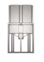 "Promethean APTASBB400-70 65"" Grey flat panel wall mount"