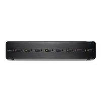 Belkin F1DN108F-3 KVM switch Rack mounting Black