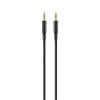Belkin F3Y117BT1M 1m 3.5mm 3.5mm Zwart audio kabel