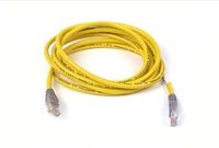 Belkin CAT5e, UTP, 3m 3m Cat5e U/UTP (UTP) Geel netwerkkabel