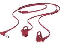 HP 150 Headset In-ear Rood