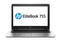 """HP EliteBook 755 G4 Zilver Notebook 39,6 cm (15.6"""") 1920 x 1080 Pixels 2,7 GHz AMD A A12-9800B"""