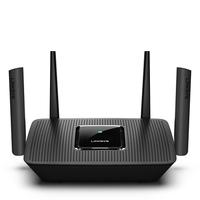 Linksys MR8300 draadloze router Gigabit Ethernet Tri-band (2.4 GHz / 5 GHz / 5 GHz) Zwart