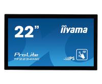"iiyama ProLite TF2234MC 54,6 cm (21.5"") 1920 x 1080 Pixels Multi-touch Multi-gebruiker Zwart"