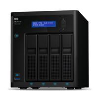 Western Digital My Cloud Pro PR4100 NAS Desktop Ethernet LAN Zwart N3710