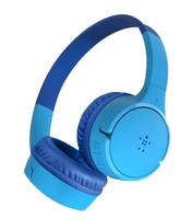 Belkin AUD001BTBLCS headphones/headset Handheld 3.5 mm connector Bluetooth Blue