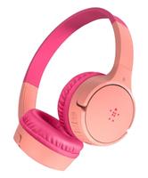 Belkin AUD001BTPK headphones/headset Handheld 3.5 mm connector Bluetooth Pink