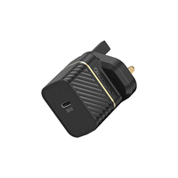 OtterBox Premium fast charge wall charger (UK) 30-W, Black Shimmer