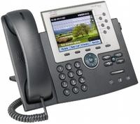 Cisco 7965G Handset met snoer TFT Zwart, Grijs IP telefoon