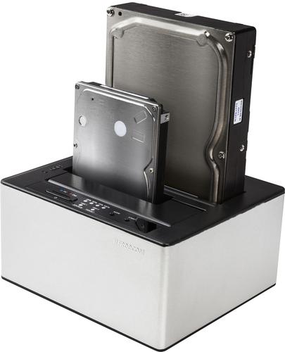 Freecom mDOCK Duplicator Zwart, Zilver