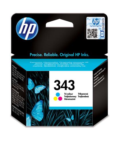 HP 343 Original Cyan,Magenta,Yellow 1 pc(s)