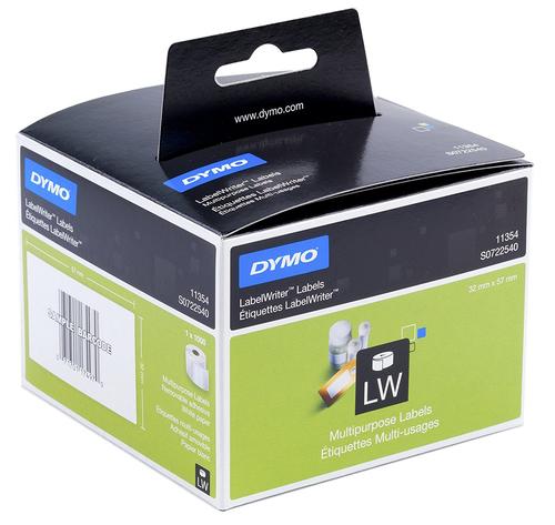 DYMO Removable Multi purpose Labels Black,White 1000pc(s) self-adhesive label