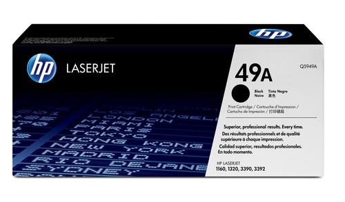 HP 49A originele zwarte LaserJet tonercartridge