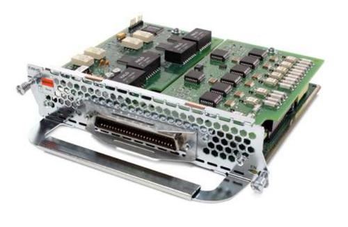 Cisco EVM-HD-8FXS/DID, Refurbished voice network module RJ-21