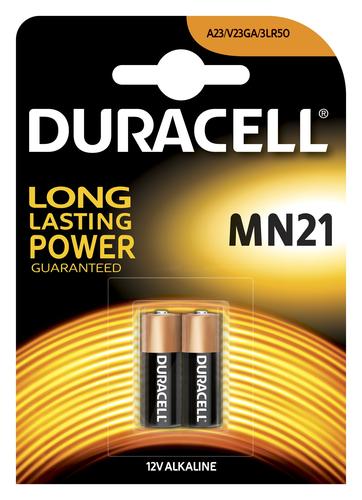 Duracell Specialty alkaline MN21-batterij, verpakking van 2