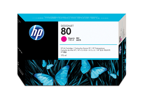 HP 80 inktcartridge Origineel Magenta