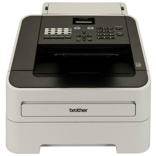 Brother FAX-2840 faxmachine Laser 33,6 Kbit/s A4 Zwart, Grijs
