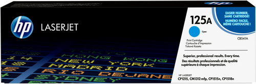 HP 125A originele cyaan LaserJet tonercartridge