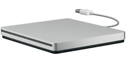 Apple USB SuperDrive DVD±R/RW Silver optical disc drive