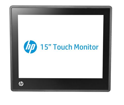 "HP L6015tm touch screen monitor 38.1 cm (15"") 1024 x 768 pixels Black"