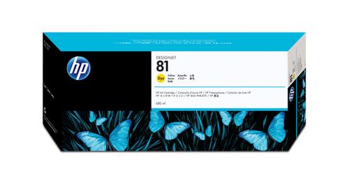 HP 81 Origineel Geel