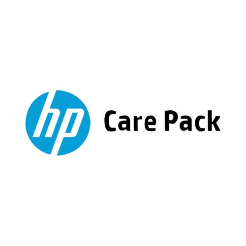 HP 5 j, vlg werkd onsite svc, alleen notebook