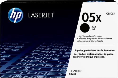 HP 05X originele high-capacity zwarte LaserJet tonercartridge