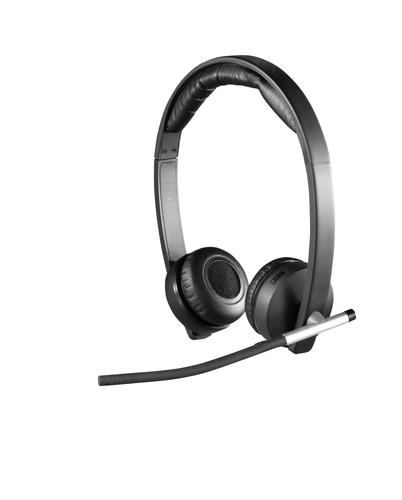 Logitech H820e Binaural Head-band Black headset