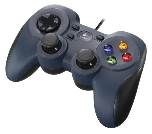 Logitech F310 Gamepad PC Black, Blue, Multicolor