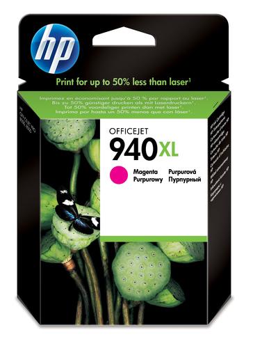 HP 940XL High Yield Magenta Original Ink Cartridge inktcartridge 1 stuk(s) Origineel Hoog (XL) rendement