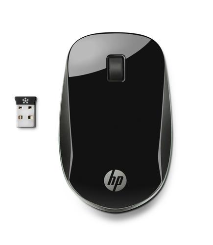 HP Z4000 RF Draadloos Optisch Zwart muis