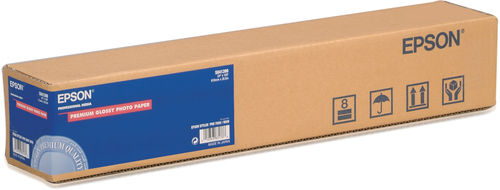 "Epson Premium Glossy Photo Paper Roll, 24"" x 30,5 m, 166g/m²"