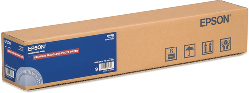 "Epson Premium Semigloss Photo Paper Roll, 24"" x 30,5 m, 160g/m²"