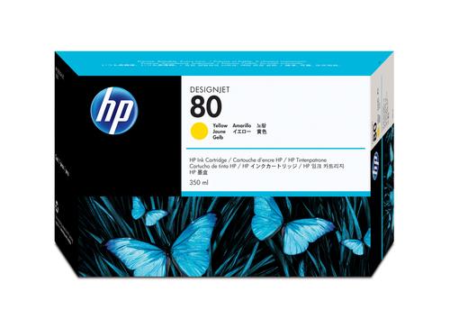 HP 80 Origineel Geel