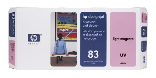 HP 83 licht-magenta DesignJet UV-printkop en printkopreiniger