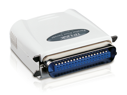 TP-LINK Single Parallel Port Fast Ethernet Print Server Ethernet LAN print server