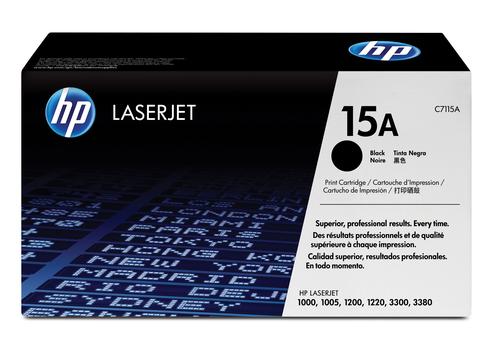 HP 15A originele zwarte LaserJet tonercartridge