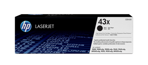 HP 43X originele high-capacity zwarte LaserJet tonercartridge