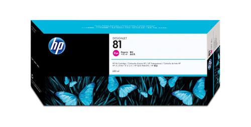 HP 81 Origineel Magenta