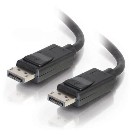 C2G 1m DisplayPort Cable with Latches 8K UHD M/M - 4K - Black