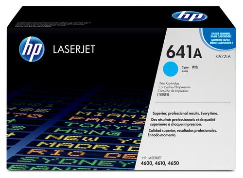 HP 641A 1 pc(s) Original Cyan