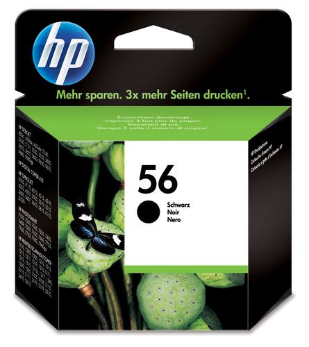 HP 56 Original Black 1 pc(s)