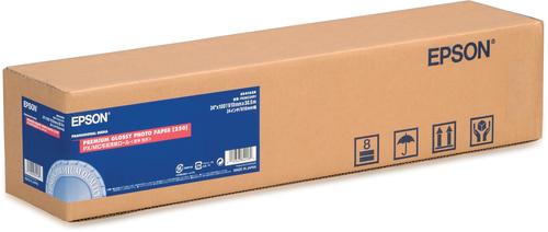 "Epson Premium Glossy Photo Paper Roll, 24"" x 30,5 m, 260g/m²"