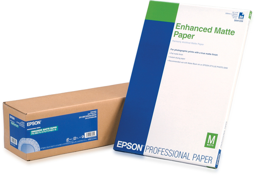 "Epson Enhanced Matte Paper Roll, 24"" x 30,5 m, 189g/m²"
