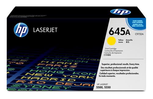 HP 645A originele gele LaserJet tonercartridge