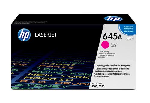 HP 645A originele magenta LaserJet tonercartridge