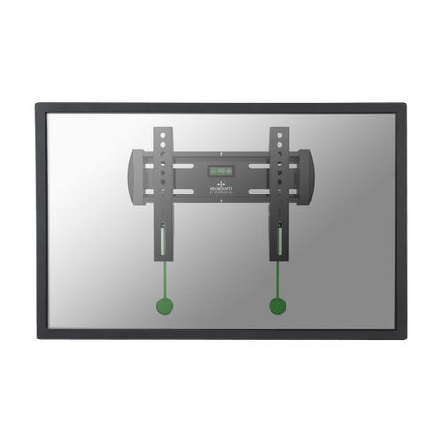 """Newstar NM-W120BLACK 40"""" Black flat panel wall mount"""