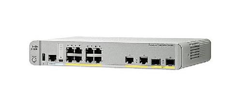 Cisco WS-C3560CX-8PC-S netwerk-switch Managed Gigabit Ethernet (10/100/1000) Power over Ethernet (PoE) Wit
